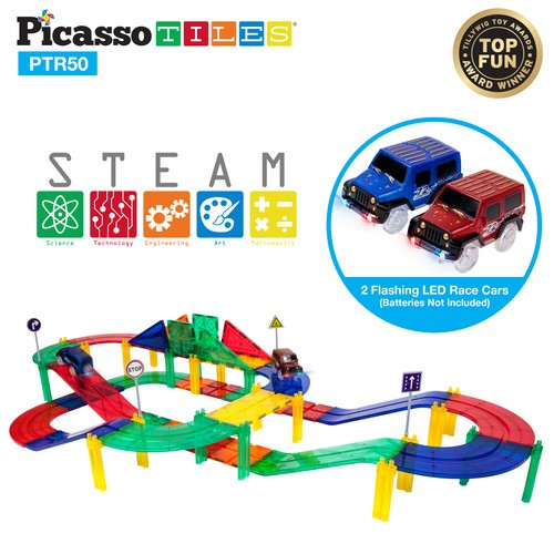 Picasso Tiles Racing Track Set