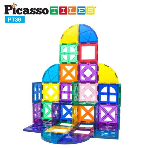 Picasso Tiles Quarter Circle & Window Set