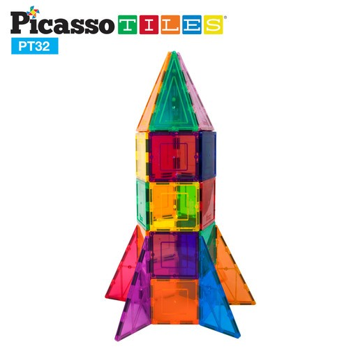 Picasso Tiles Rocket Booster Set