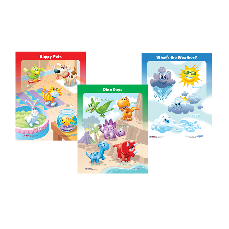 3-pack Puzzles | Dino Days