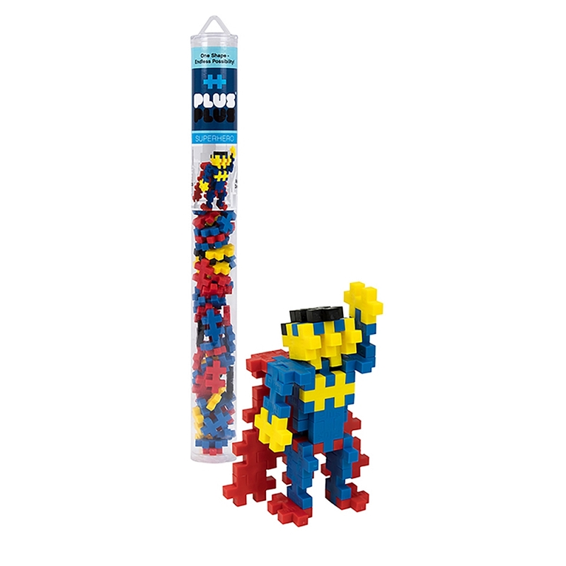 PlusPlus 70 pc tube | Superhero