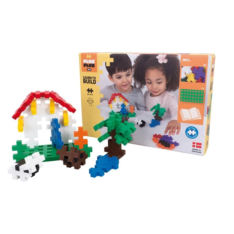 PlusPlus BIG Learn to Build 60 pc | Basic