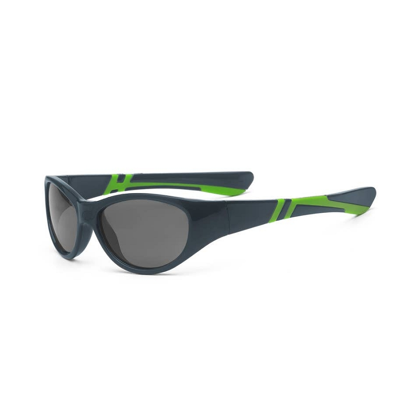 Discover Sunglasses for kids 4+ | Graphite/Lime