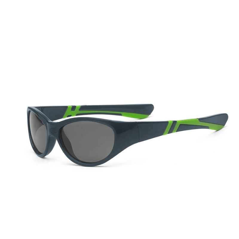 Discover Sunglasses for Youth 7+ | Graphite/Lime