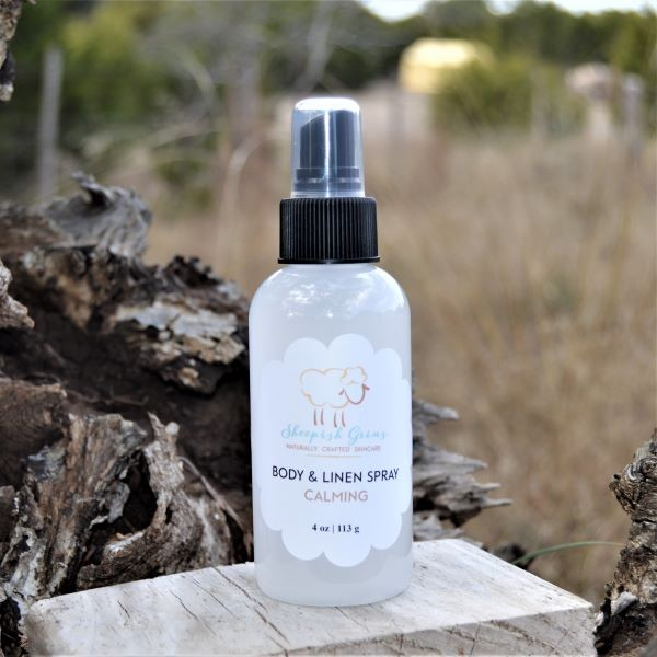 Body & Linen Spray |Vanilla Orange