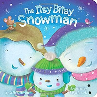 The Itsy Bitsy Snowman board book
