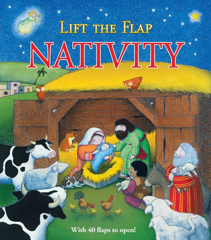 Nativity Lift the Flap board book