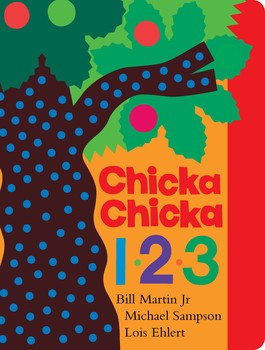 Chicka Chicka  1 2 3 board book