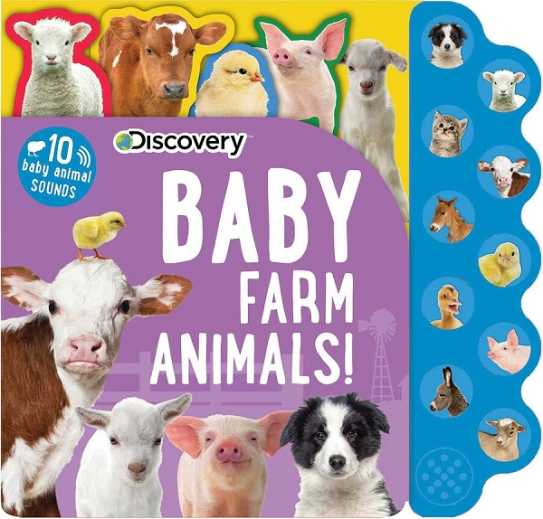 Discovery: Baby Farm Animals sound book