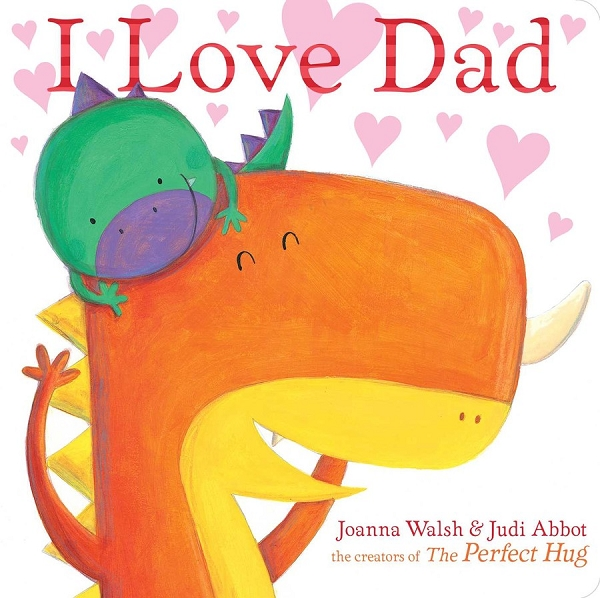 I Love Dad board book