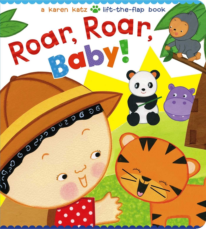 Roar, Roar, Baby! lift-the-flap board book