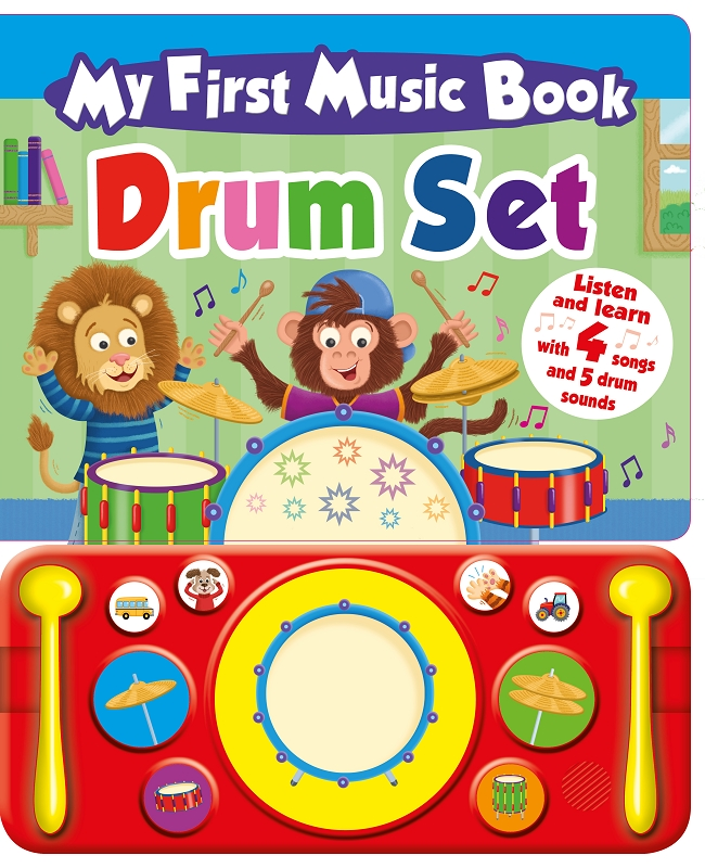 My First Music Book | Drum Set