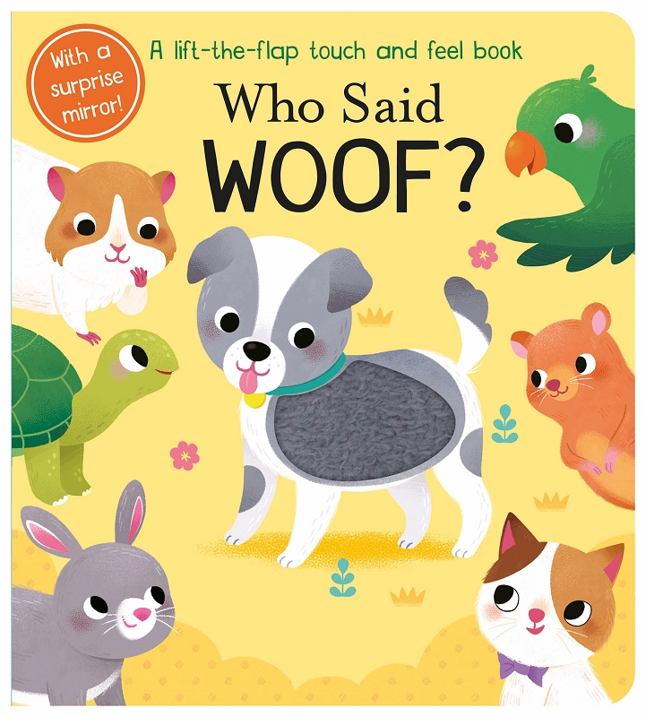 Who Said Woof? board book