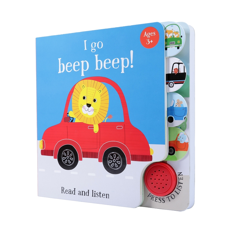 I Go Beep Beep (Sound Book)