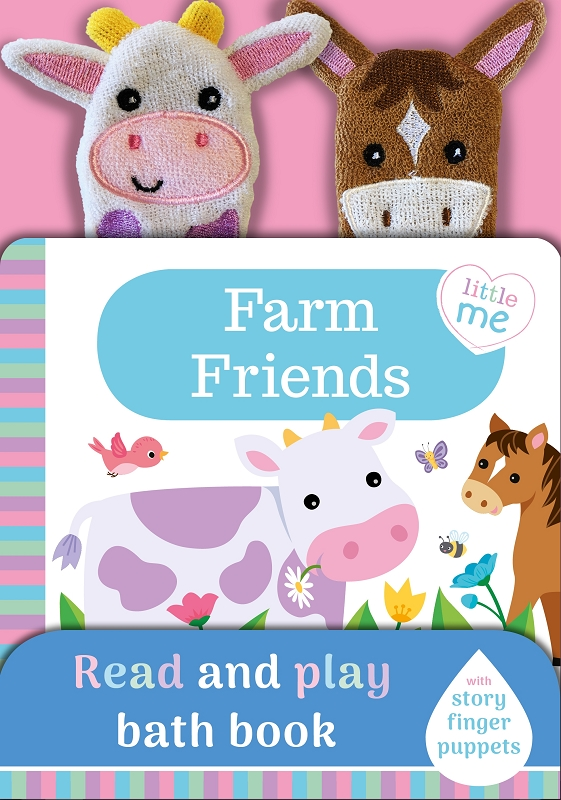 Farm Friends bath book