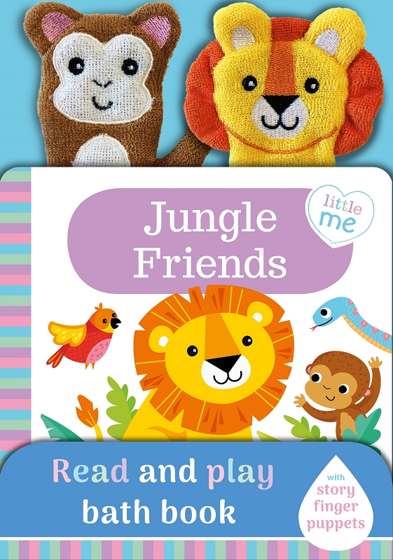 Jungle Friends bath book