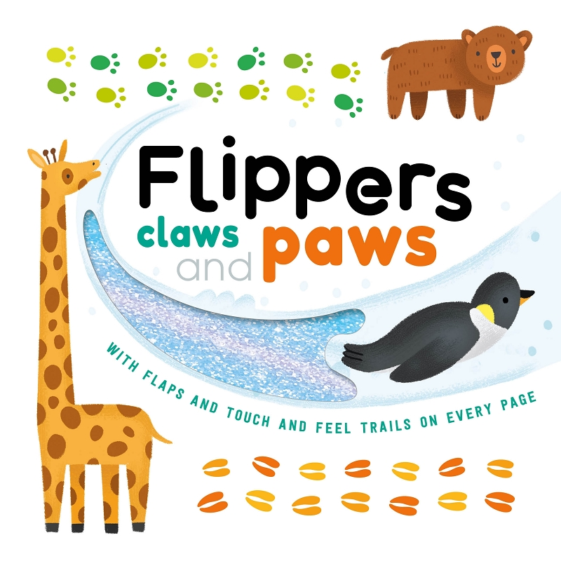 Flippers, Claws and Paws board book