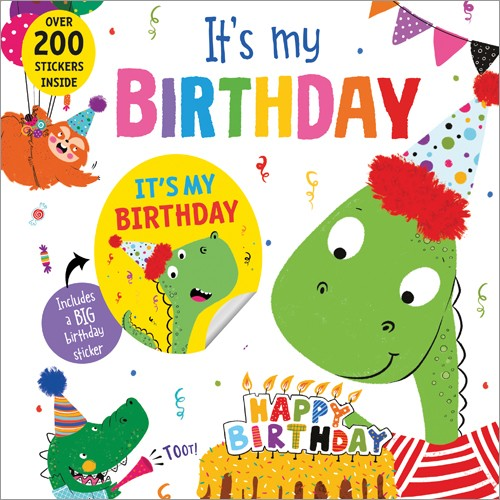 It's My Birthday book (Dinosaur
