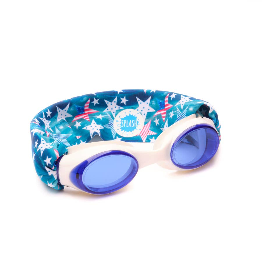 Splash Swim Goggles | 'Merica
