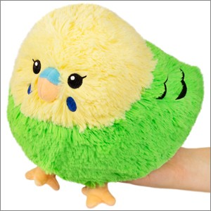 Squishable: Mini Budgie Green