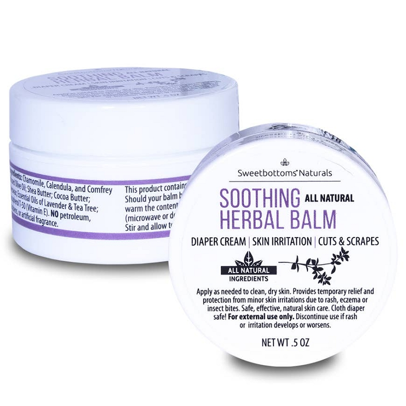 Soothing Herbal Balm | .5 oz mini