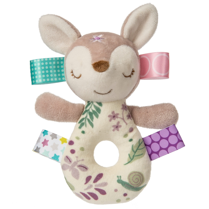 Taggies Fabric Rattle | Flora Fawn