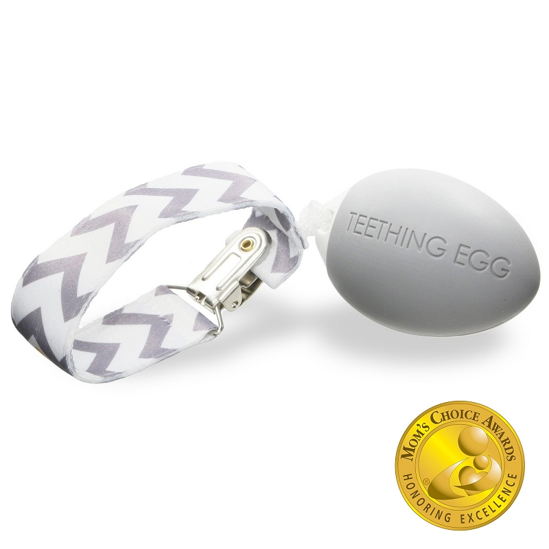 Teething Egg | Gray