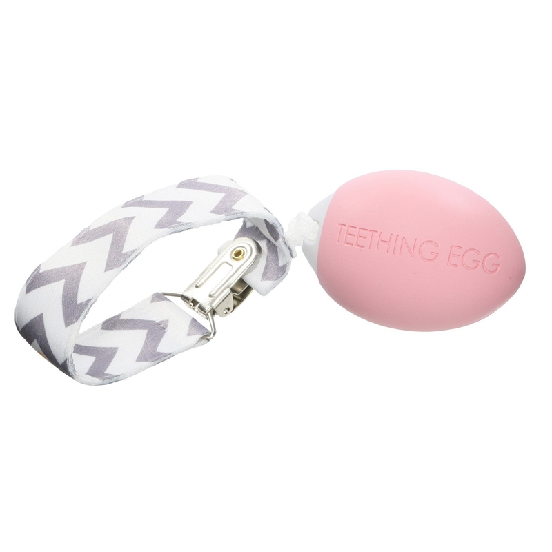 Teething Egg | Pink