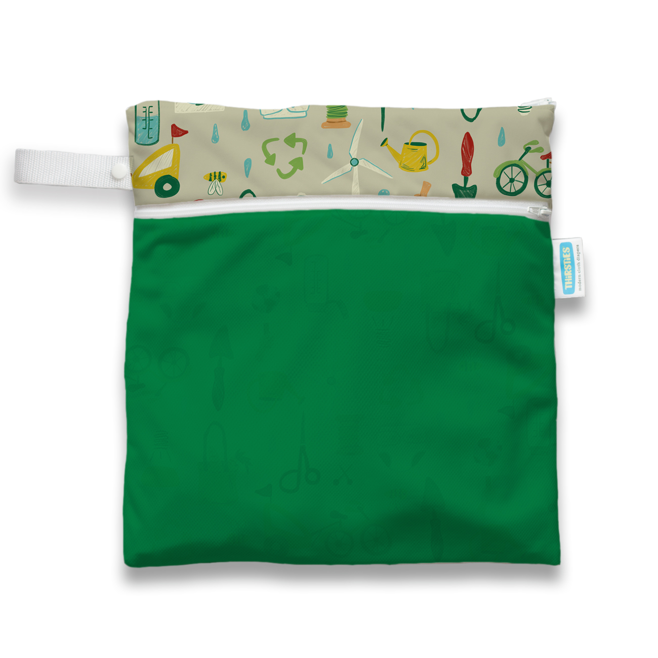 Wet Dry Bag | Green Scene