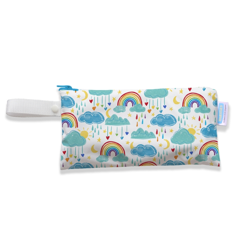 Thirsties Clutch Bag | Rainbow