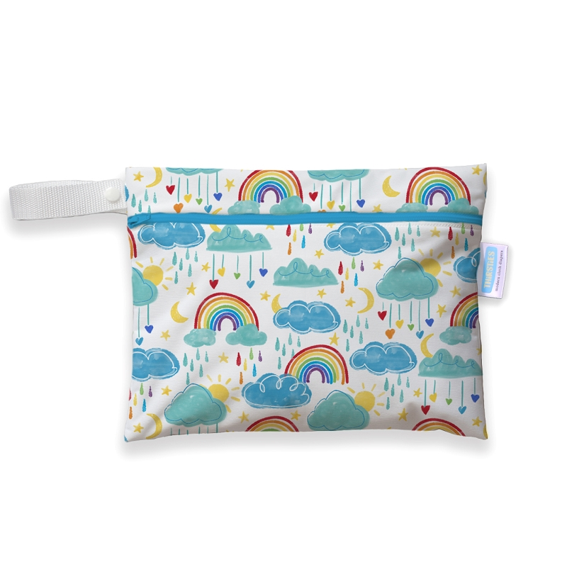 Thirsties Mini Wet Bag | Rainbow