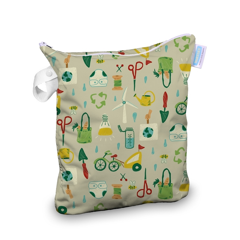 Wet Bag | Green Scene