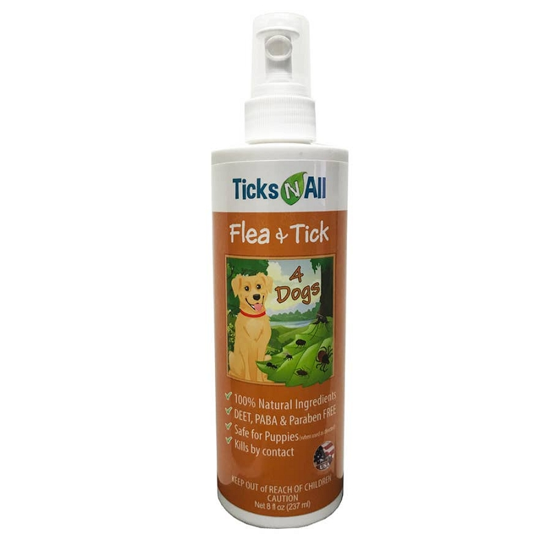 Flea & Tick Spray for Dogs | 8 oz