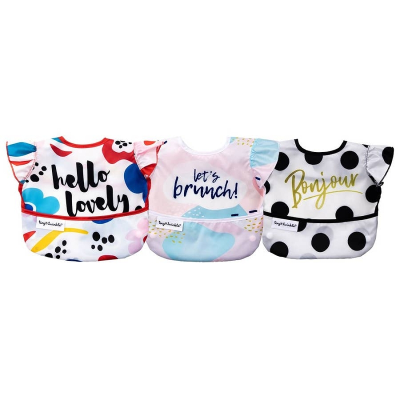 Mess-proof Easy Bib 3 pk | Lovely