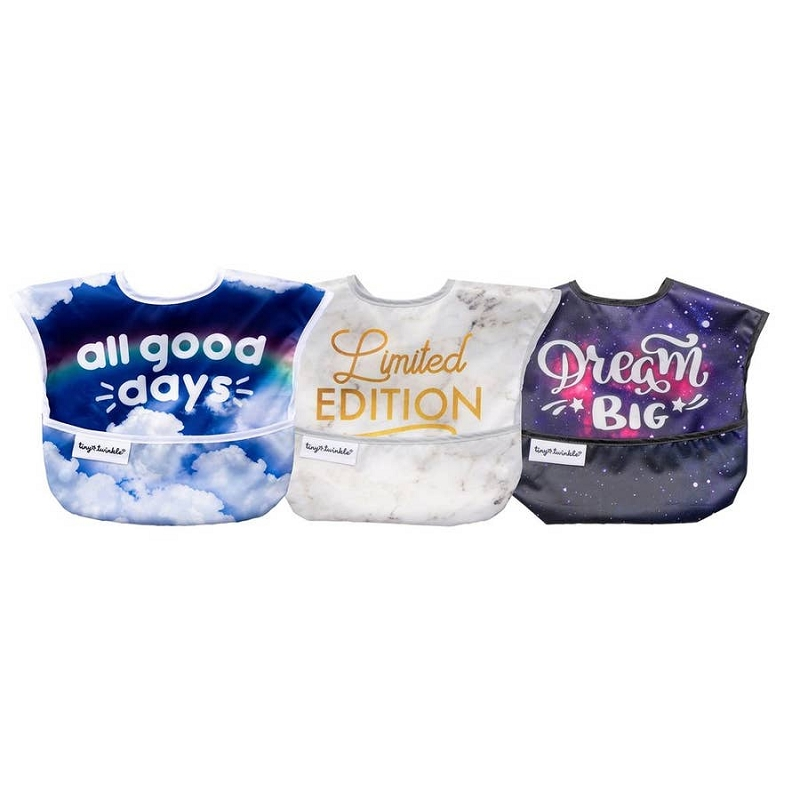 Mess-proof Easy Bib 3 pk | Good Days