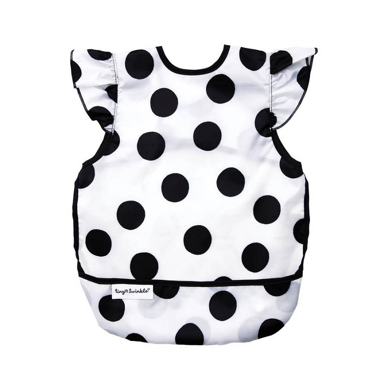 Mess-proof Apron Bib | Polka Dot