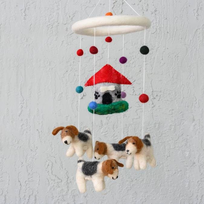 Wool Mobile | Dog
