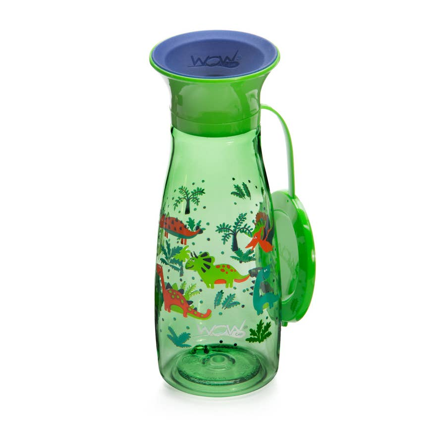 WOW Cup Mini 12 oz | Green Dinosaurs