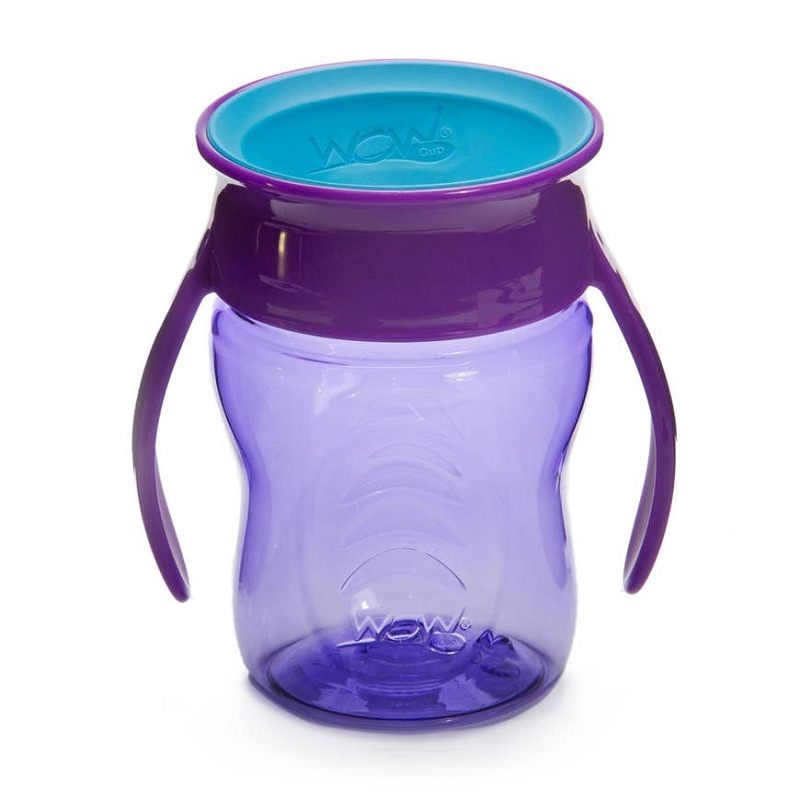 WOW Cup Baby 7 oz | Purple