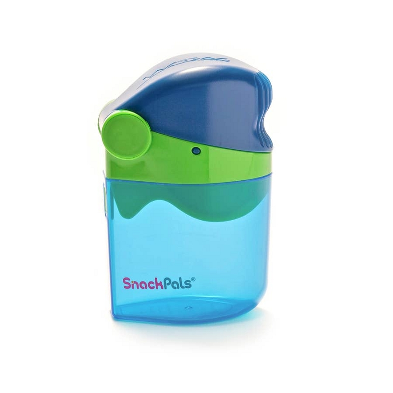 WOW SnackPals Snack Dispenser | Blue/Green