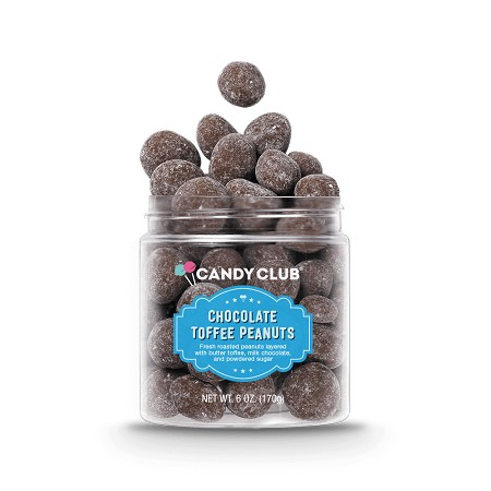 Candy Club Chocolate Toffee Peanuts | 6 oz