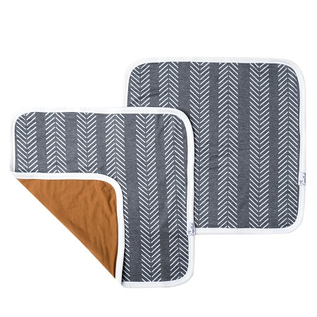 Knit Security Blanket 2pk | Canyon