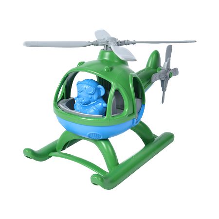 Green Toys Helicopter | Blue