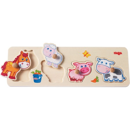 Clutching Puzzle | Farm Animals
