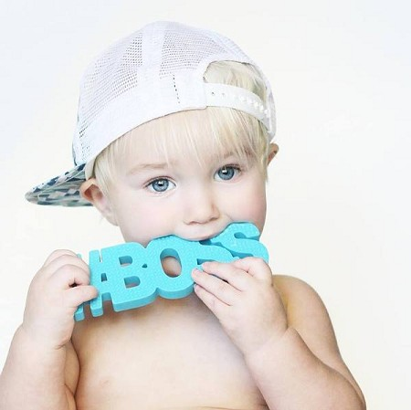 TeetheWords #BOSS Teether | Blue