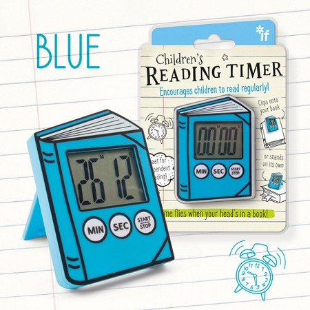 Children's Reading Timer | Blue