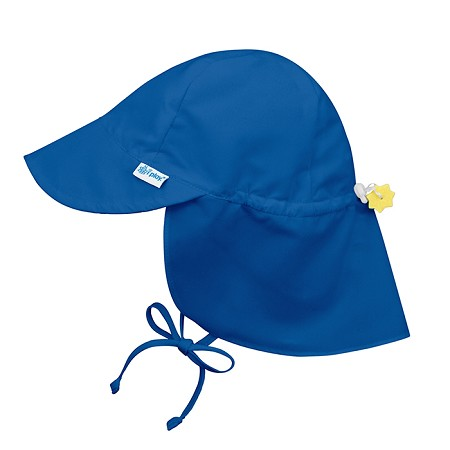 Flap Sun Protection Hat | Royal blue