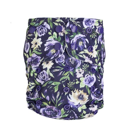 Lighthouse AIO Diaper - Purple Vintage