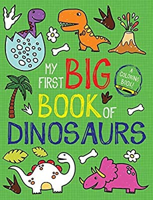 My First  Big Book of Dinosaurs coloring book