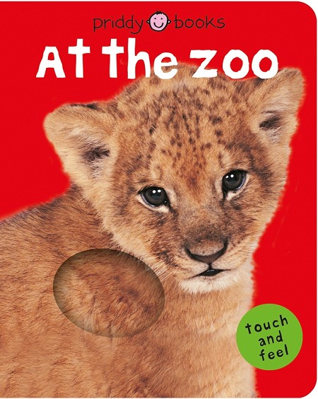 Bright Baby Touch & Feel: At the Zoo book
